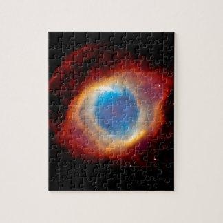 Helix Planetary Nebula NGC 7293 - Eye of God Puzzles