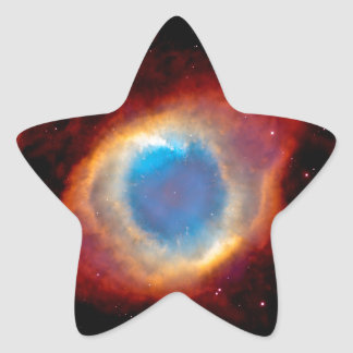 Helix Planetary Nebula NGC 7293 - Eye of God Star Sticker