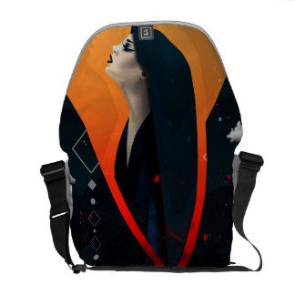 Hell Angel Courier Bag