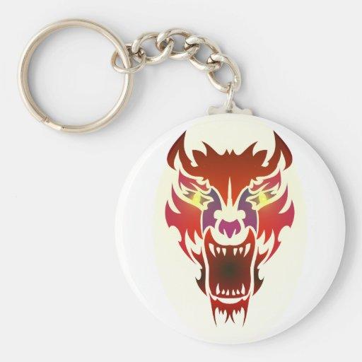 Hell dog brightly hound keychains