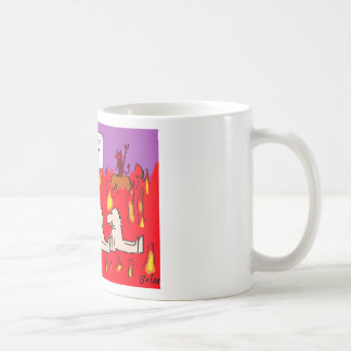 hell envy sloth gluttony sinners basic white mug