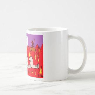 hell envy sloth gluttony sinners coffee mug