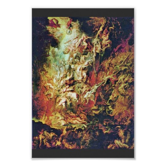 Hell Fall Of The Damned By Rubens Peter