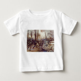 Hell Fighters from Harlem by H. Charles McBarron Baby T-Shirt