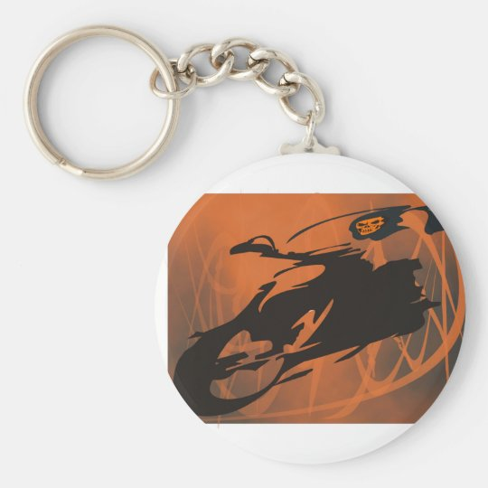 Hell Fire Key Ring