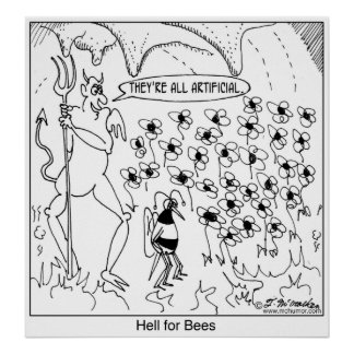 Hell For Bees Print