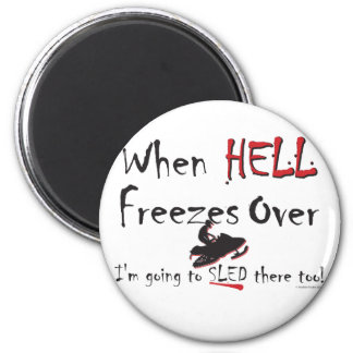 HELL-FREEZES-on-ash-[Conver 6 Cm Round Magnet