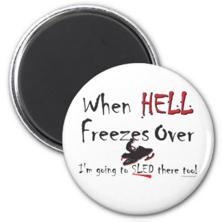 HELL-FREEZES-on-ash-[Conver Fridge Magnets