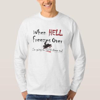 HELL-FREEZES-on-ash-ZAZ-eps T Shirts