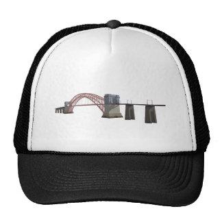 Hell Gate Bridge 3D Model Trucker Hats