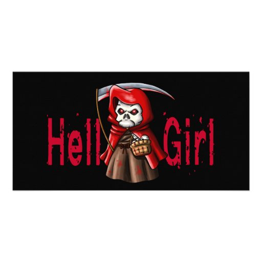 Hell Girl Picture Card