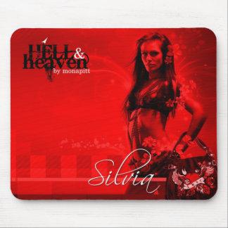 Hell&Heaven  Silvia Mouse Mat