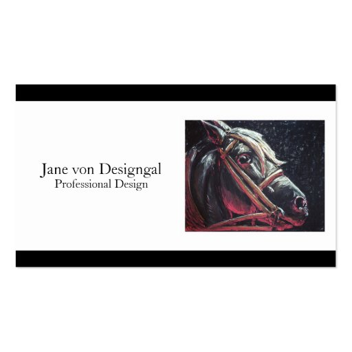 Hell Horse Business Card