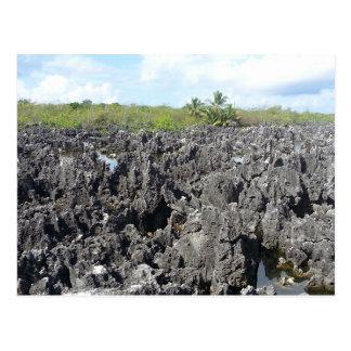 Hell in Grand Cayman Islands Postcard