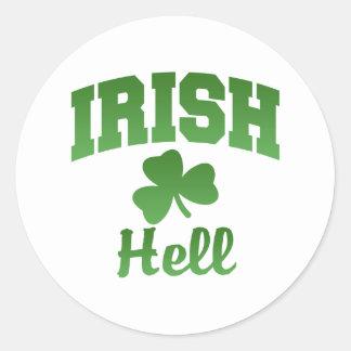 Hell Irish Sticker