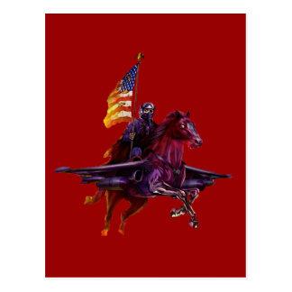 Hell Jet Fighter Postcard