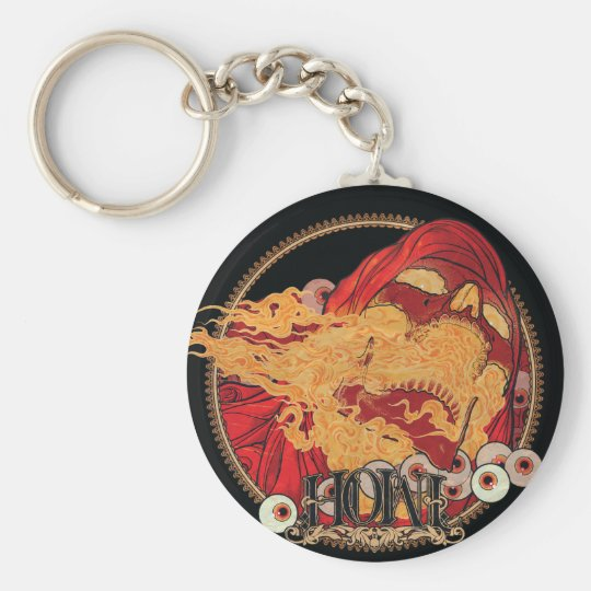 Hell keychain