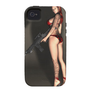 Hell on Heels 2 iPhone 4 Case-Mate Tough Vibe iPhone 4 Case