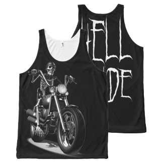 Hell Rider All-Over Print Tank Top