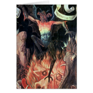 Hell, right hand panel from Triptych of Earthly Card