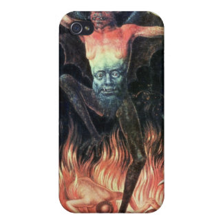 Hell, right hand panel from Triptych of Earthly Case For The iPhone 4