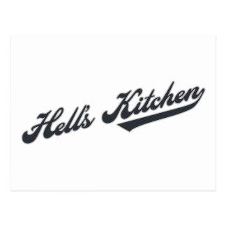 Hell s Kitchen Post Card
