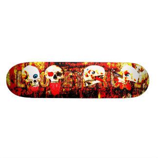 Hell Skulls Skateboard Deck