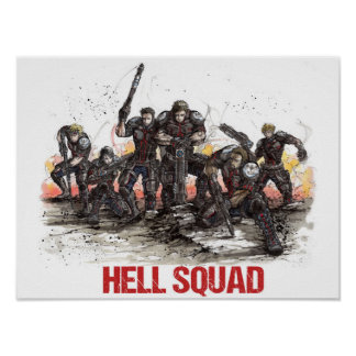 Hell Squad Poster