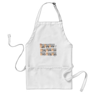 Hell Working Day Cartoon by Sam Backhouse Apron