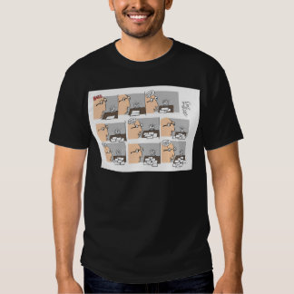 Hell Working Day Cartoon by Sam Backhouse Shirts