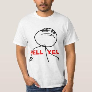 Hell Yea Rage Face Meme Tshirts