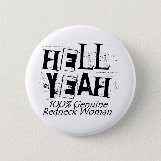 Hell Yeah 6 Cm Round Badge