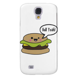 Hell Yeah Burger Galaxy S4 Case