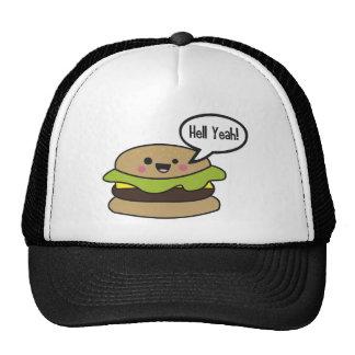Hell Yeah Burger Trucker Hats