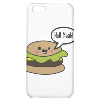 Hell Yeah Burger iPhone 5C Cover