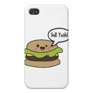 Hell Yeah Burger iPhone 4/4S Covers