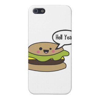 Hell Yeah Burger Cases For iPhone 5