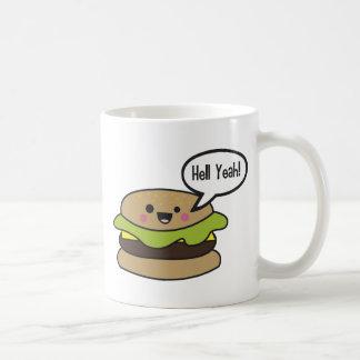 Hell Yeah Burger Mugs
