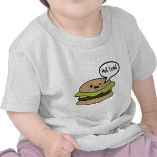 Hell Yeah Burger T-shirts