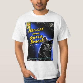 Hellcat from Outer Space! T-Shirt
