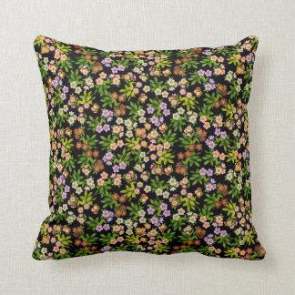 Hellebore Lenten Rose Flowers Pillow