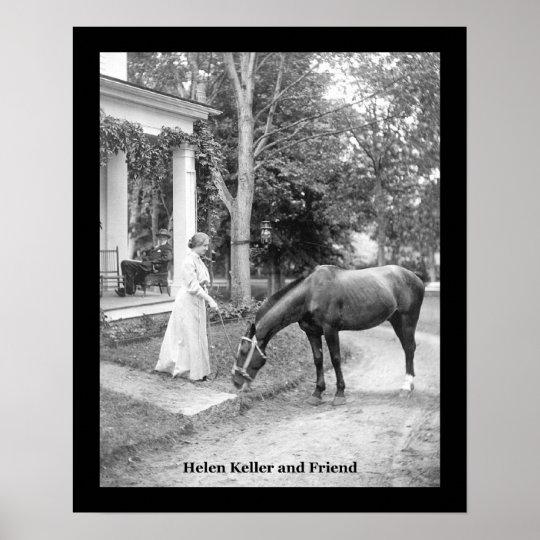 Hellen Keller VINTAGE POSTER PRINT
