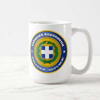 Hellenic Republic (Greece) Medallion Coffee Mug