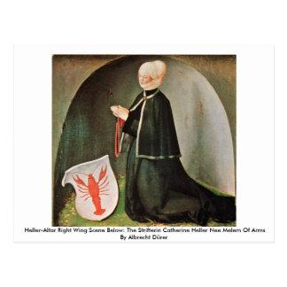 Heller-Altar Right Wing By Albrecht Dürer Postcard
