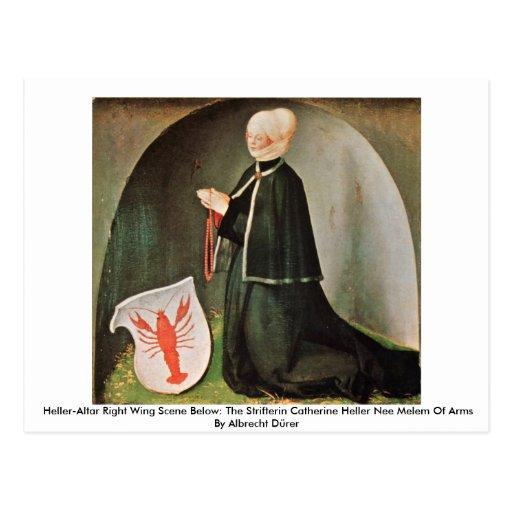 Heller-Altar Right Wing By Albrecht Dürer Post Card