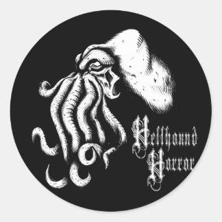 Hellhound Horror Cthuhlu Logo Sticker