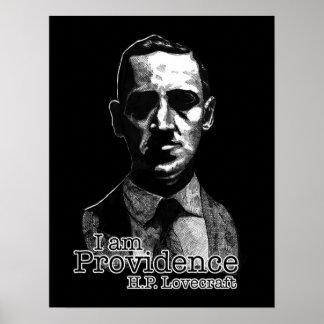 Hellhound Horror H.P. Lovecraft Poster