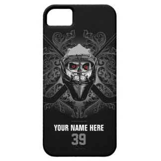 Hellish Hockey Goalie iPhone 5 Cases