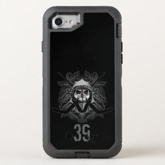 Hellish Hockey Goalie (personalized) OtterBox Defender iPhone 7 Case