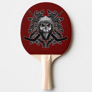 Hellish Hockey Goalie Ping Pong Paddle